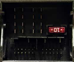 2-й вариант разъема питания магнитолы (радиоблока)