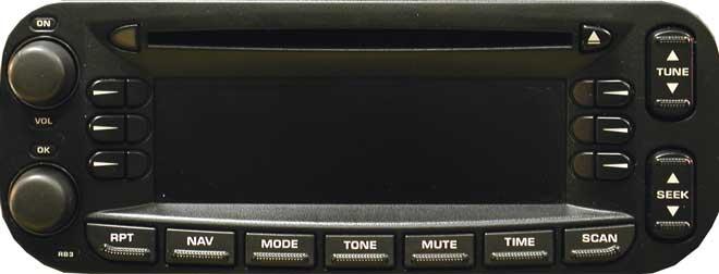 Штатная магнитола для Dodge be6802 фото