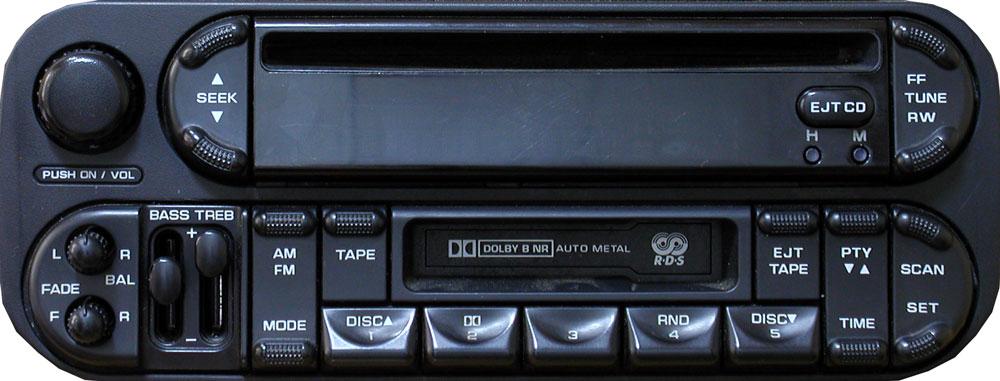 автомагнитола для Dodge p05064042ab фото