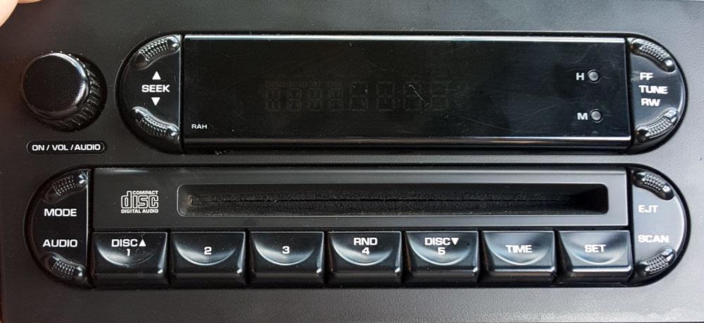 штатная магнитола для Dodge фото