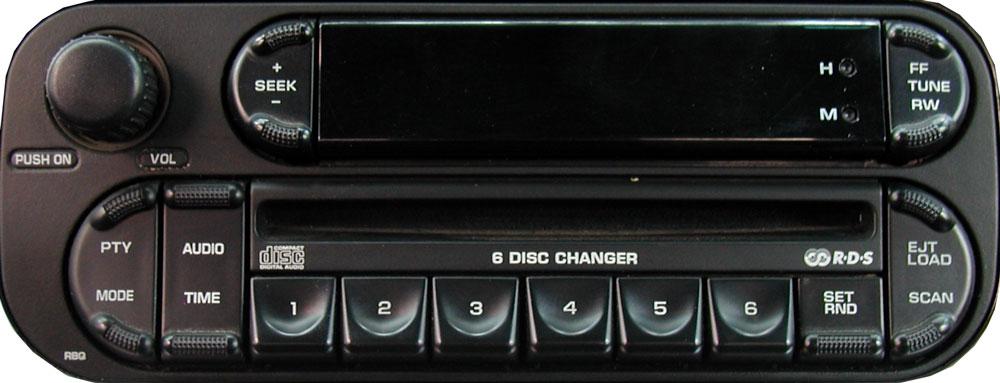 штатная магнитола для Dodge p05091507ae фото