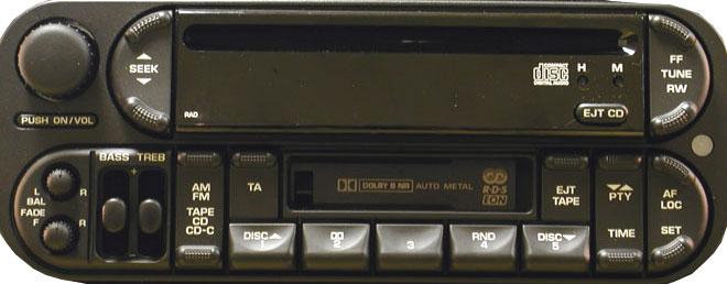 Штатная магнитола P05091601AE RAD фото