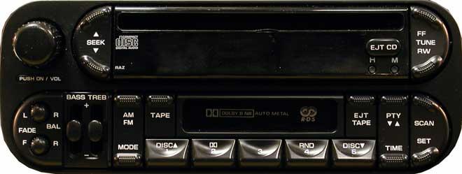 Штатная магнитола P05091605AC RAZ фото