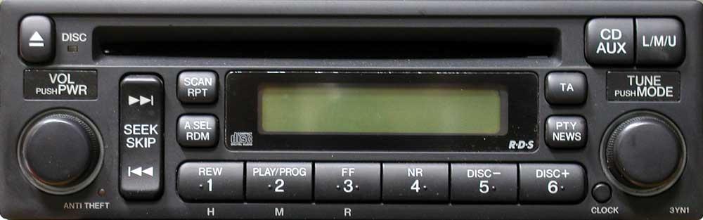магнитола mp3 для Honda CR-V 2006 3YN1 фото