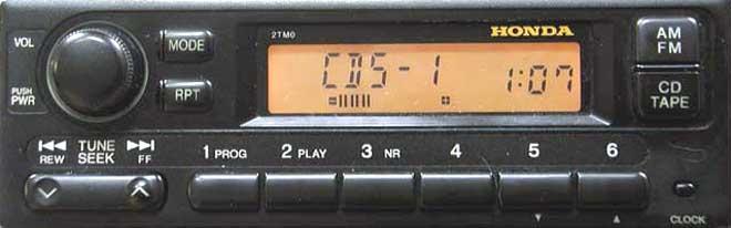 Штатная mp3 магнитола для Honda 2TM0 фото