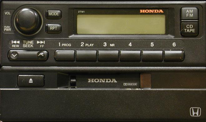 Штатная магнитола мп3 для Honda 2TM1 фото