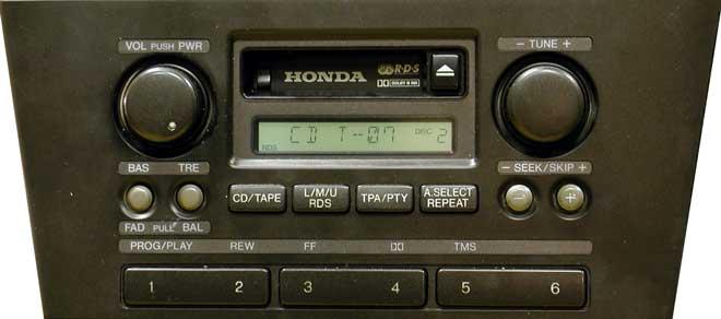 Штатная магнитола мп3 для Honda CM926R фото