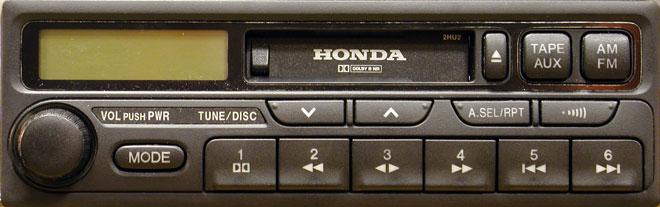 Штатная магнитола для Honda Odyssey 2HU2 фото