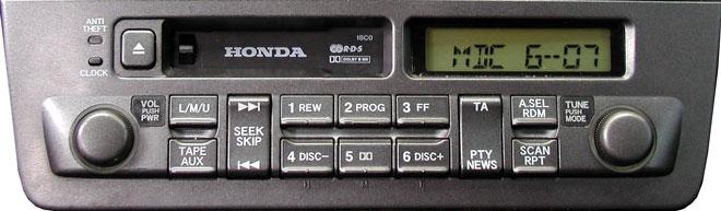 Штатная магнитола для Honda Civic 1SC0 фото