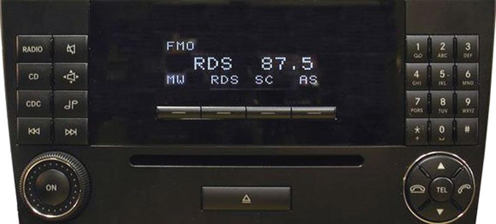 Штатная магнитола для Mercedes Audio 20CD фото