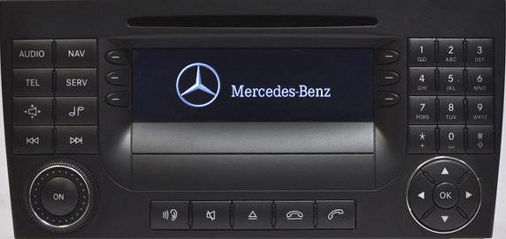 Штатная магнитола для Mercedes Audio 50 APS фото