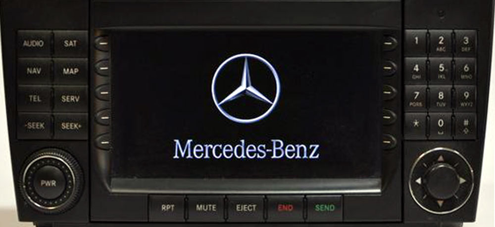 Штатная магнитола для Mercedes Comand MCS USA фото