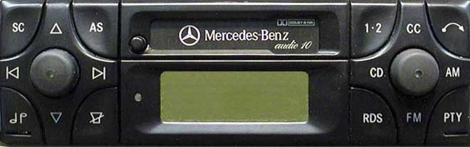 Штатная магнитола для Mercedes Audio 10 (BE3100) фото