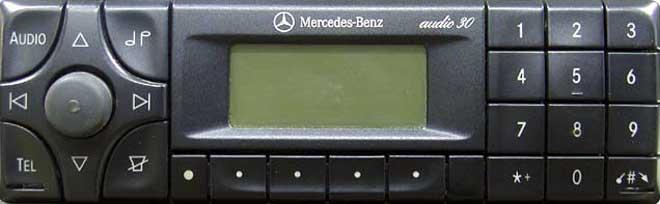 Штатная магнитола для Mercedes Audio 30 (BE3307) фото