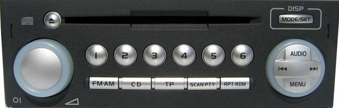 Штатная магнитола для Mitsubishi Colt фото