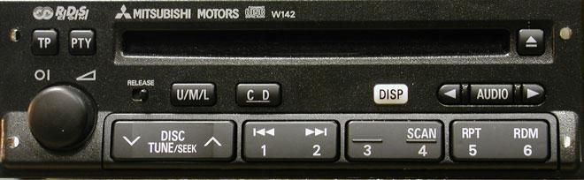 Штатная магнитола для Mitsubishi W142 фото