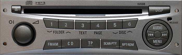 Штатная магнитола для Mitsubishi W698 Pajero Sport, L200 фото