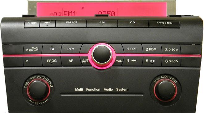 Штатная магнитола для Mazda 14789909 фото