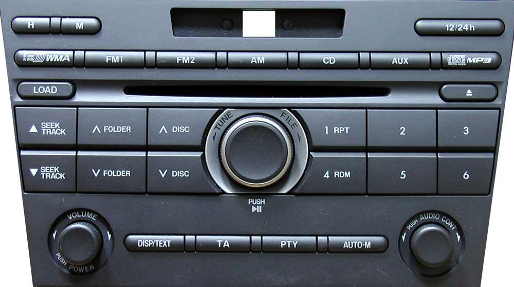 Штатная магнитола для Mazda CR-LM4282KA, Mazda-6  фото