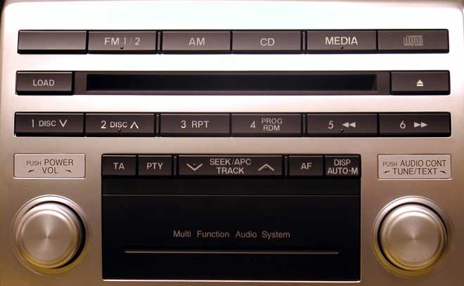 Штатная магнитола для Mazda 14792086, 14792089 фото