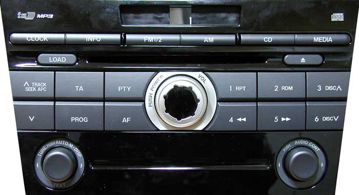 Штатная магнитола для Mazda 14795137 фото