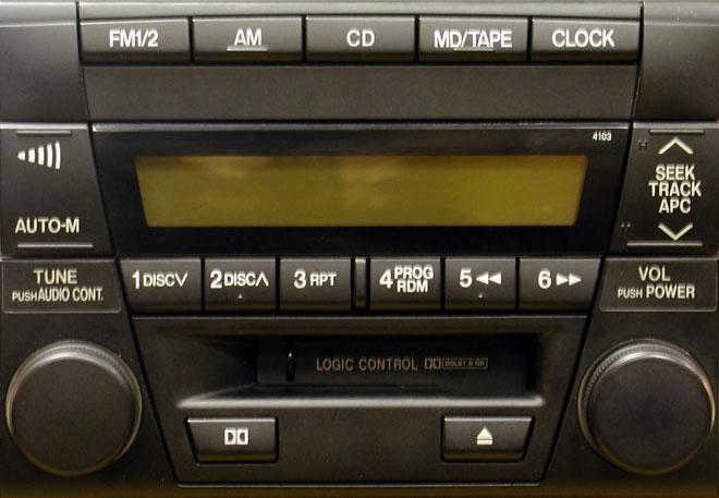 Штатная магнитола для Mazda 4103 фото