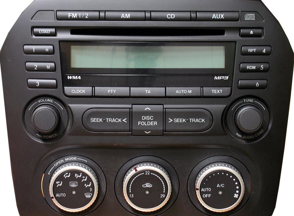 Штатная магнитола для Mazda NH52 66 9ROA фото