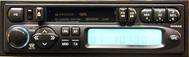 Штатная магнитола для Infiniti (PP-9940H, Clarion) фото