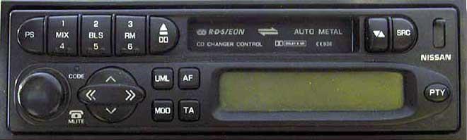 Штатная магнитола для Infiniti CK936 (PN-9924U, Clarion) фото