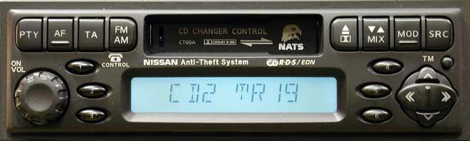 Штатная магнитола для Infiniti CT00A (PP-1675H, Clarion) фото