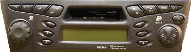 Штатная магнитола для Infiniti CT078 (PN-1628M, Clarion) фото