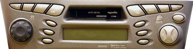 Штатная магнитола для Infiniti CT098 (PN-1628M-N, Clarion) фото
