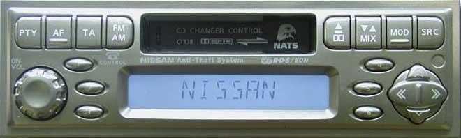 Штатная магнитола для Infiniti CT138 (PP-1675T, Clarion) фото