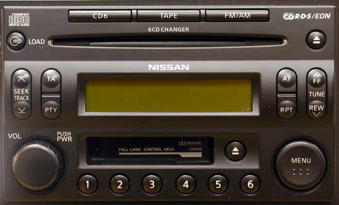 Штатная магнитола для Infiniti CH340 (PP-2609T, Clarion) фото