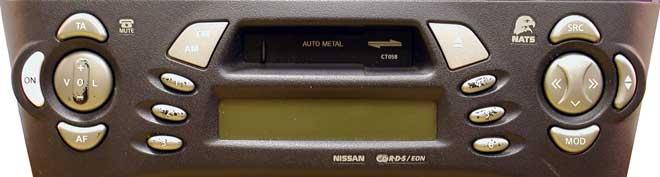 Штатная магнитола для Infiniti CT058 (PN-1629M, Clarion) фото