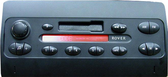 Штатная магнитола для Land Rover Philips 22DC745/60 фото