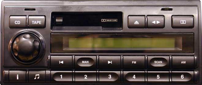 Штатная магнитола для Land Rover, Rover Alpine-1 фото