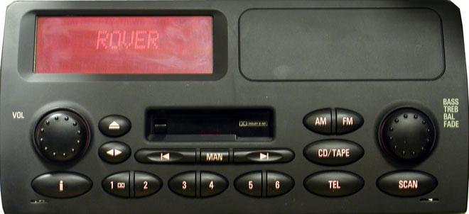 Штатная магнитола для Land Rover, Rover Alpine-2 фото