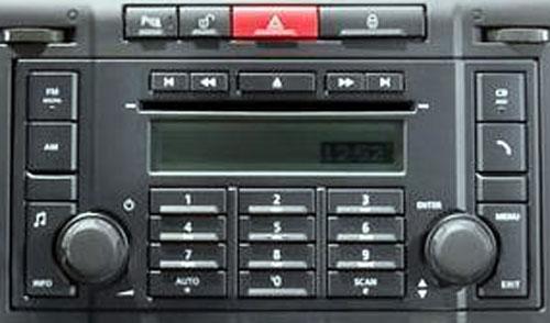 Штатная магнитола для Nissan BA010 (PN-2646F, Clarion) фото