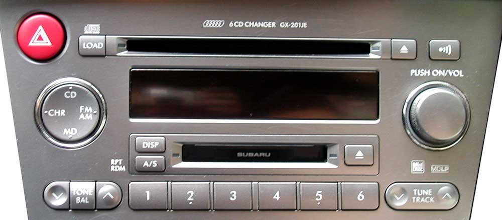 Штатная магнитола для Subaru GX-201JE (Kenwood) фото