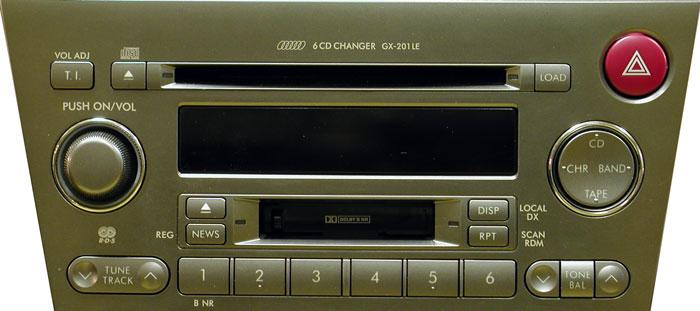 Штатная магнитола для Subaru GX-201LE (Kenwood) фото