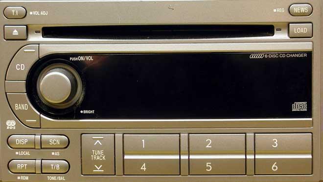 Штатная магнитола для Subaru GX806EF2 (Kenwood) фото