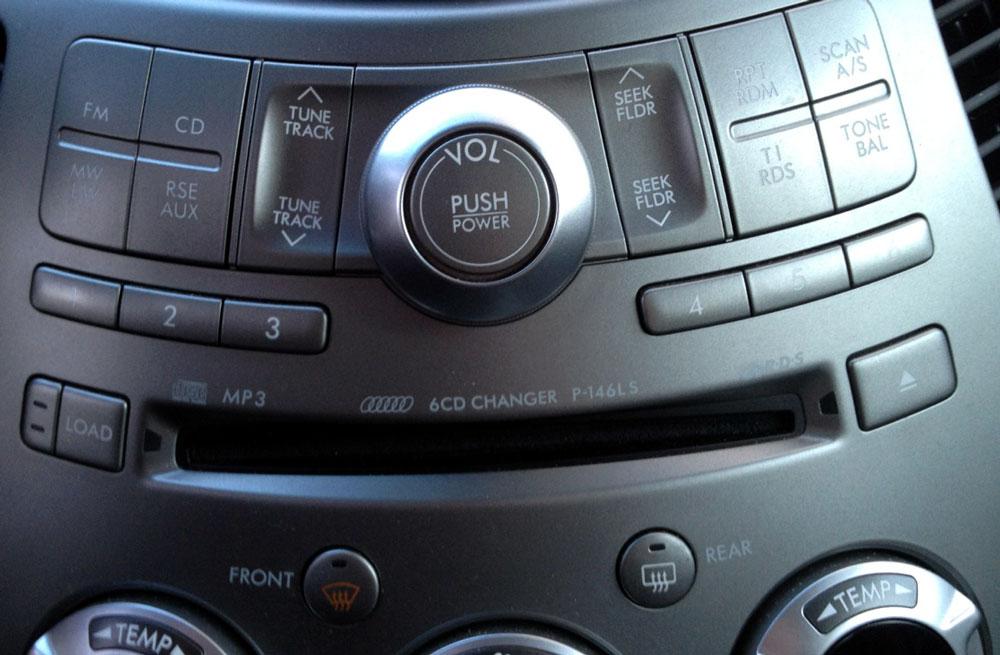Штатная магнитола для Subaru P-146LS 6-disc MP3, Panasonic Tribeca фото