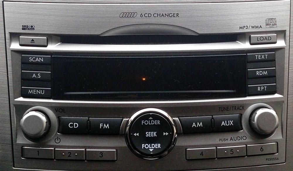 Штатная магнитола для Subaru PE50556 Forester 2013 фото