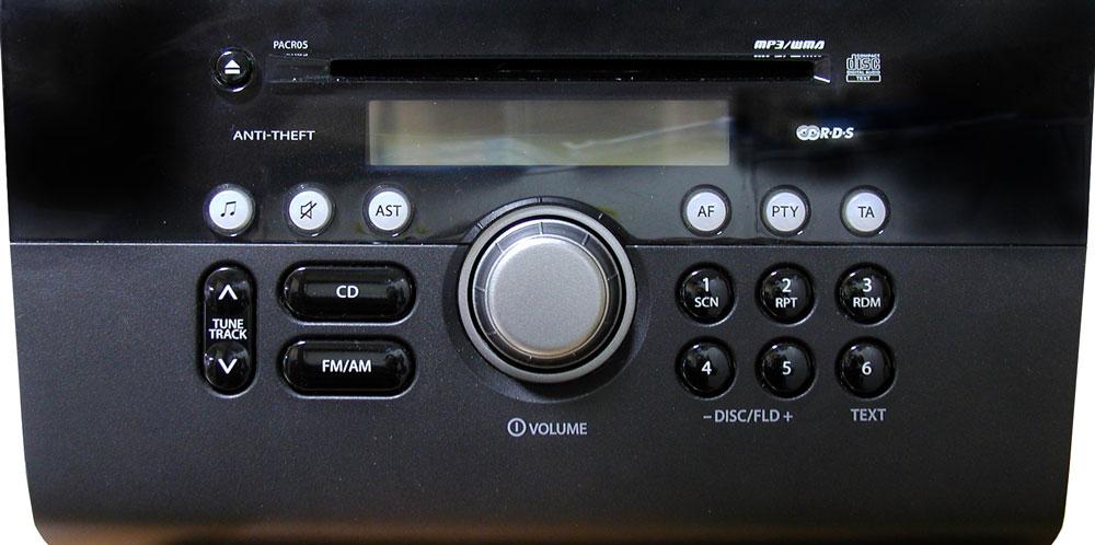 Штатная магнитола для Suzuki PACR05 фото