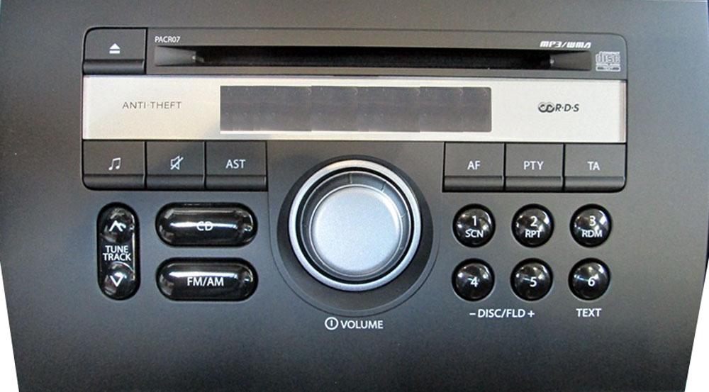 Штатная магнитола для Suzuki PACR07 фото