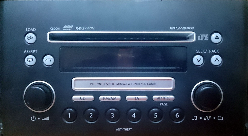 Штатная магнитола для Suzuki CLCC01 (PS-2991D-B) фото