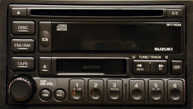 Штатная магнитола для Suzuki PS-2428D фото