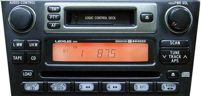 Штатная магнитола для Lexus 13901, 13903, 13904 фото