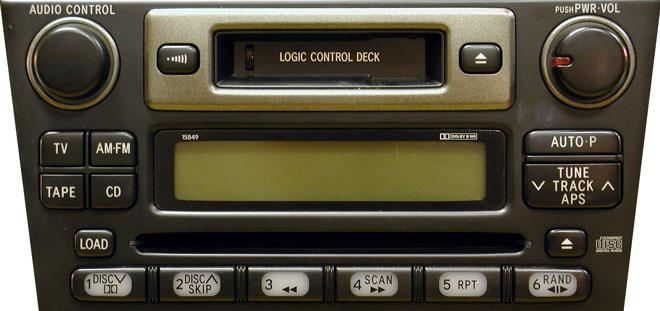 Штатная магнитола для Lexus 15849 фото